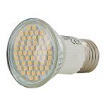 Obrázok produktu WE LED žárovka 60xSMD 3W E27 teplá bílá - refl