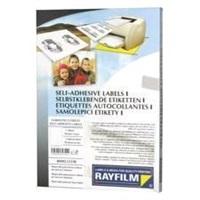 RAYFILM Fólia 210x297biela lesklá polyest. samolepiaca laser 100ks  - R0504.1123A